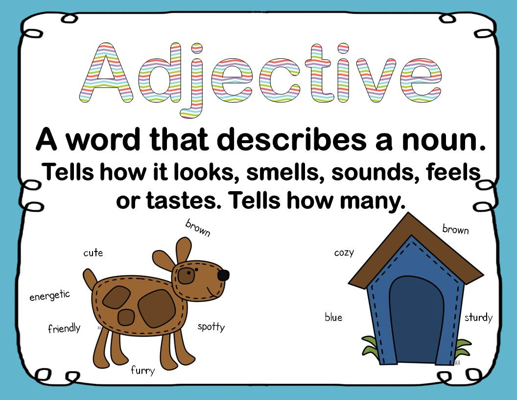 For My Students Yal Order Of Adjectives Videos