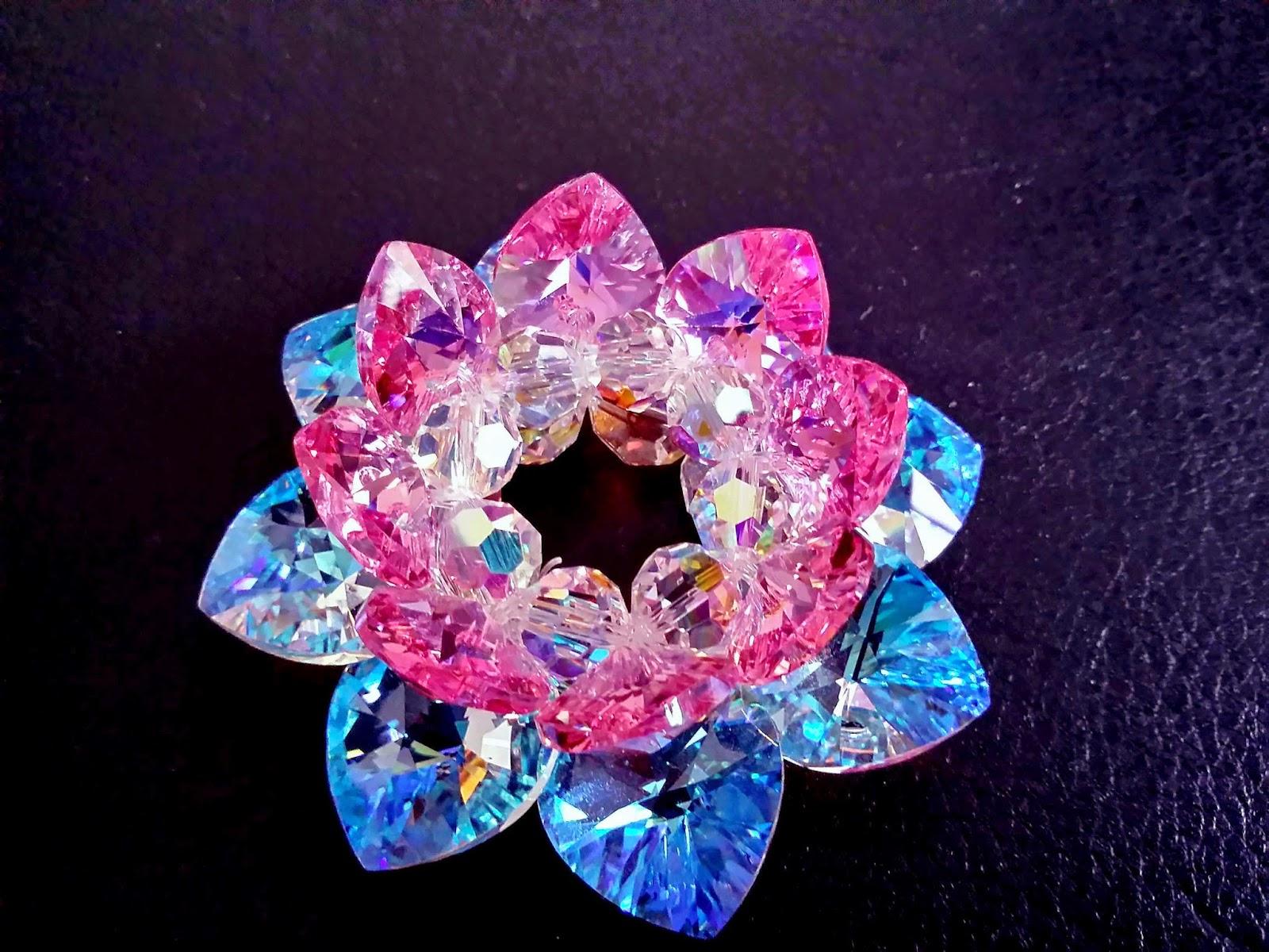 Sacred Crystal Lotus: Sacred Crystal Lotus Flower
