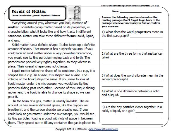 English Worksheets For Grade 1 Reading : All worksheets » key stage 1 reading comprehension