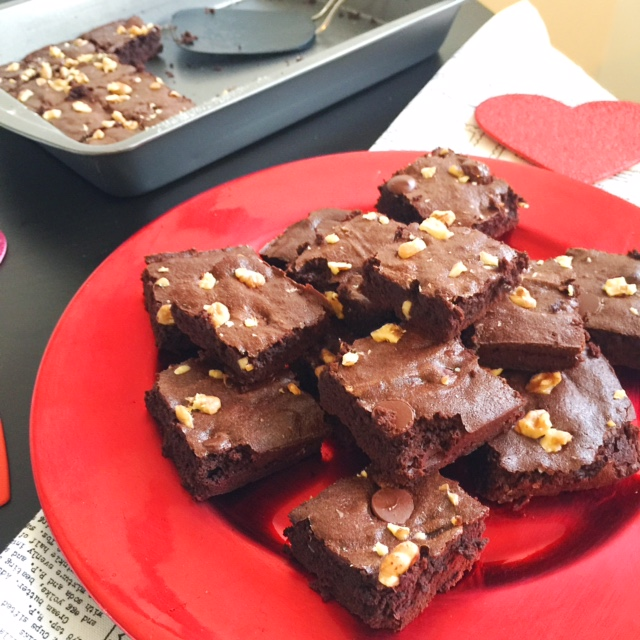 Lactose-Free Brownie Recipe for Valentine's Day