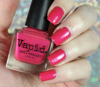 Vapid Nail Lacquer Bitchy Pink | Summer Shenanigans 2017