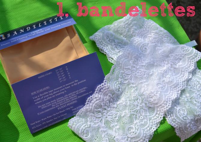 bandelettes sottogonna anti sfregamento