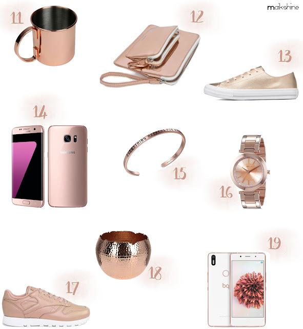 Guía regalos color metalizado