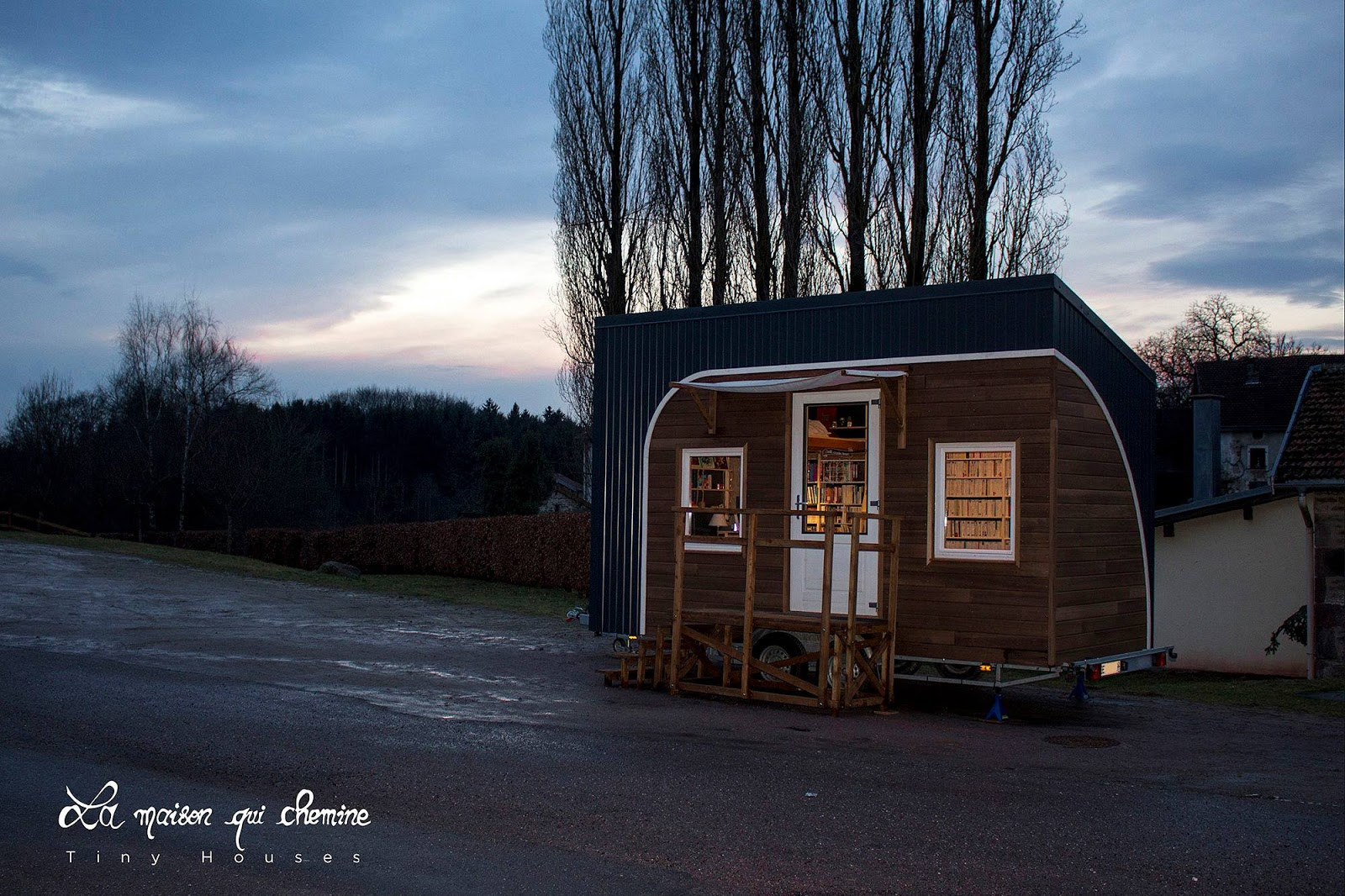 Tiny Home Designs: TINY HOUSE TOWN: The Travelling Tiny House Bookstore