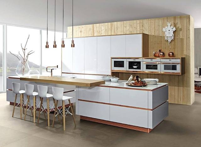 20 inspirasi desain dapur dengan konsep minimalis modern mewah