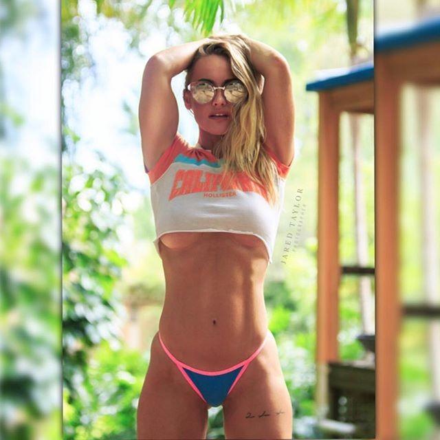Fitness Model Nikkee Lee Bikini photos