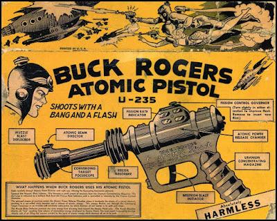 Buck Rogers Atomic Pistol