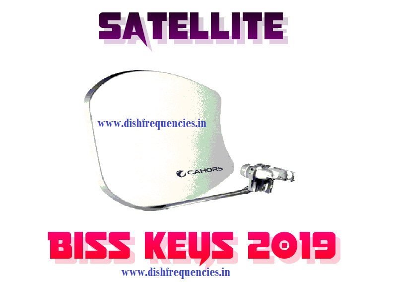 Dish Frequencies: All Satellites Biss keys 2019