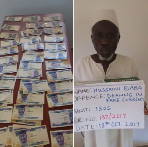 EFCC Arraigns Hussaini Baba For Currency Counterfeiting