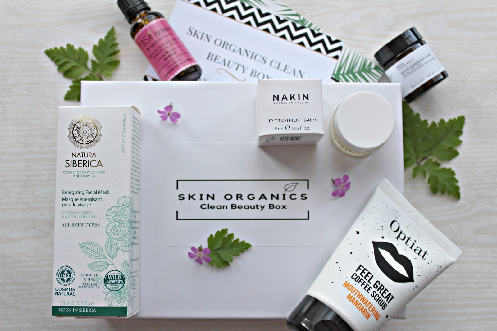 New in: Skin Organics beauty box