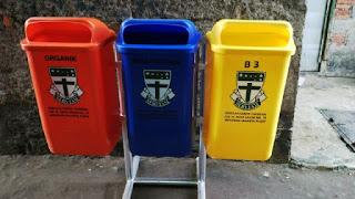 tong sampah hdpe pilah 3