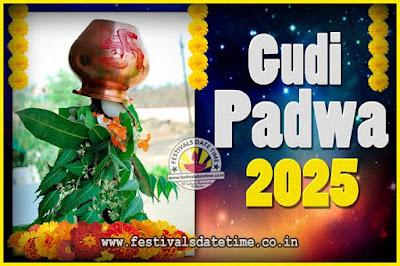 2025 Gudi Padwa Pooja Date & Time, 2025 Gudi Padwa Calendar