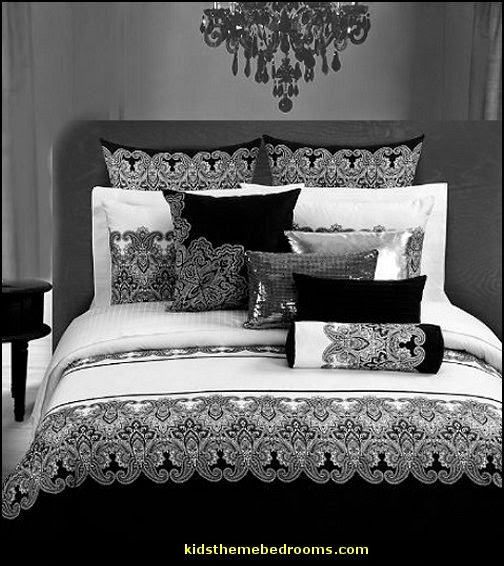 hollywood glam style bedding