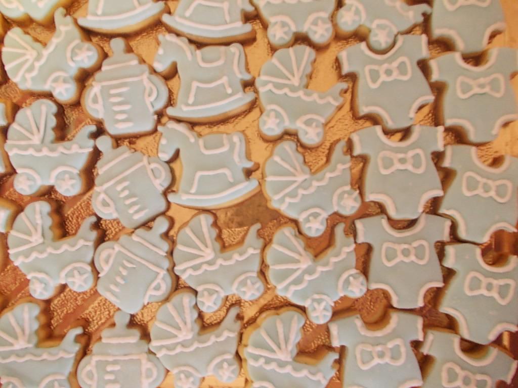 Preferenza Le Torte di Serena: Biscotti decorati per Battesimo YP07