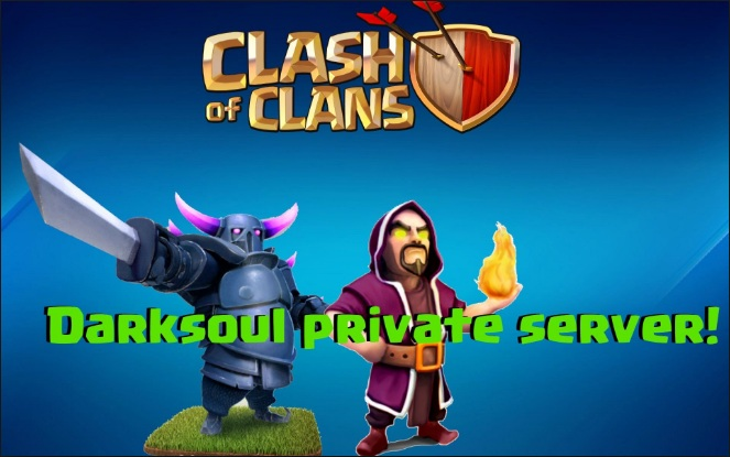dark soul clash of clans hack apk