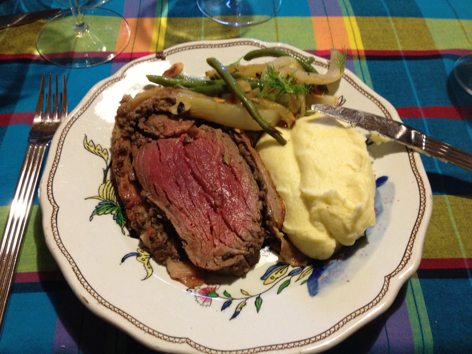 LOG: Christmas Beef Wellington
