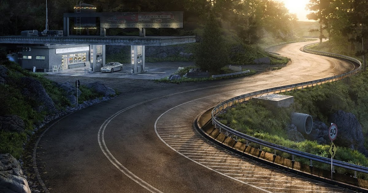 Awesome Realistic Road Textures For 3d Renders Cg Daily News