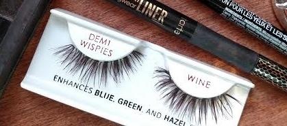 wine strip lashes