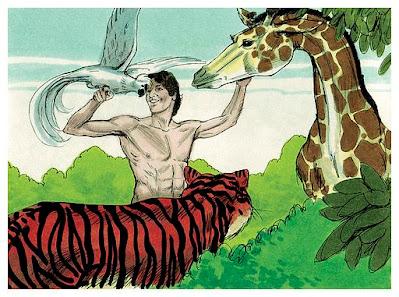 land animals and man