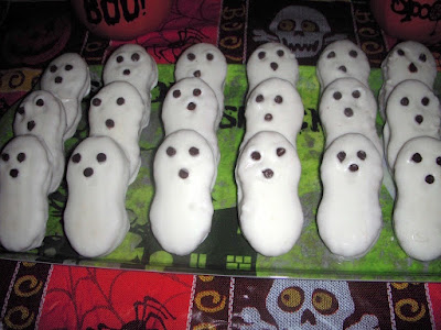 Margaret's Morsels | Halloween Ghost Cookies