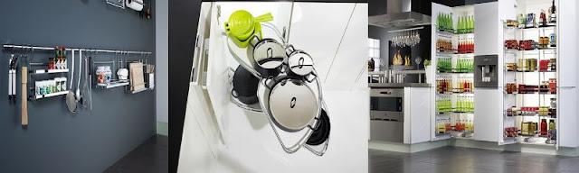Thiết kế phòng bếp tiện nghi không thể thiếu phụ kiện bếp thông minh
