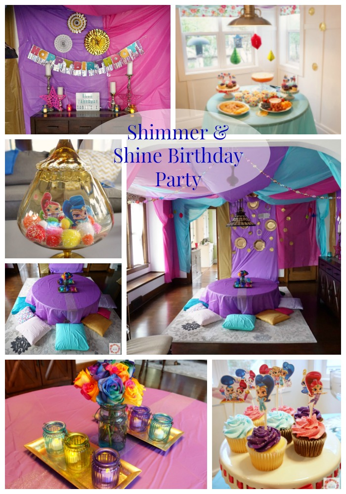 Miss Ss Shimmer And Shine 4th Birthday Party