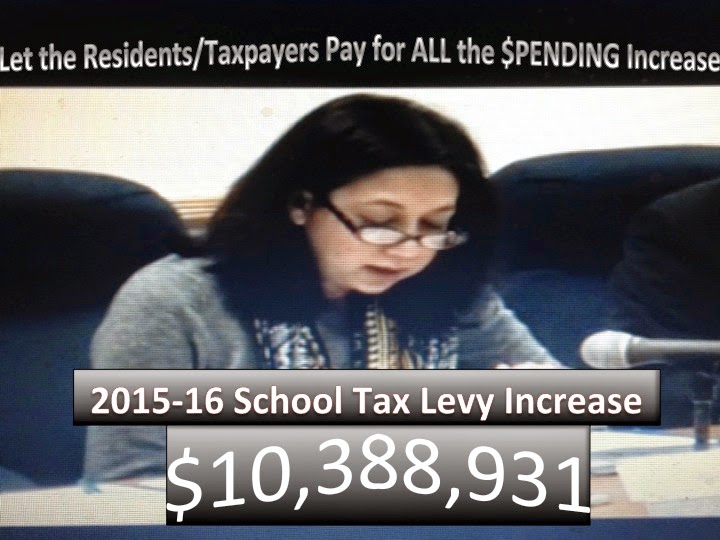 2015-16 Local School Tax Levy Increase