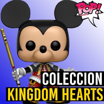 Lista de figuras funko pop de Funko POP Kingdom Hearts