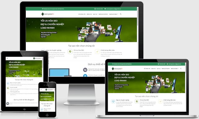 Template blogspot giới thiệu công ty