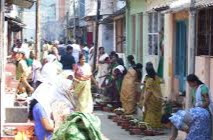 Women making pongala in Attukal temple makes beautiful life with their husbands