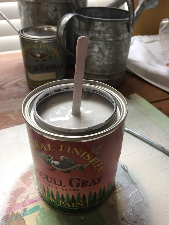 Seagull Gray Milk Paint
