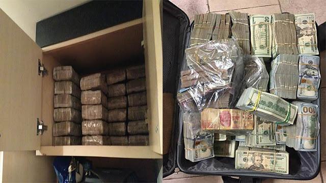 Narcos del Cártel del Noreste juntan 2 millones de dolares y 1 millón de pesos llegan los Militares y se los tumban
