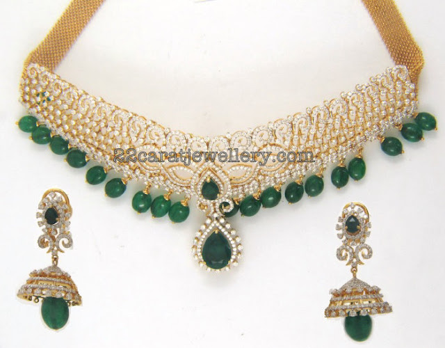Emerald Diamond Sets by Kothari Jewellers