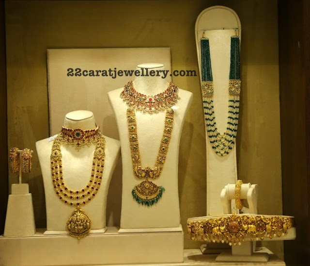 Antique Bridal Sets by Amuktha Jewellers