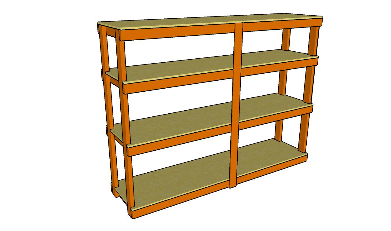 Woodwork Garage Shelf Plans Free PDF Plans
