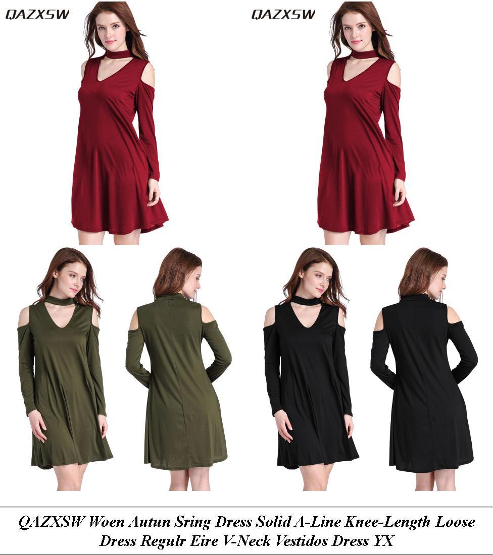 Semi Formal Dresses - Shop Sale - Denim Dress - Cheap Clothes Online Shop