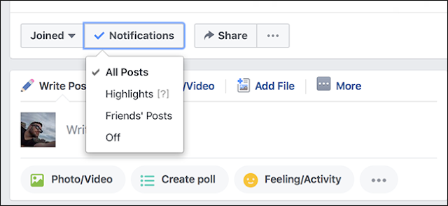 How to Stop Getting Notifications Every Time Someone Posts in a Facebook Group