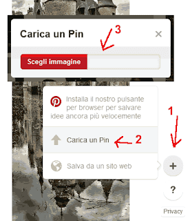 Come inserire una foto su Pinterest