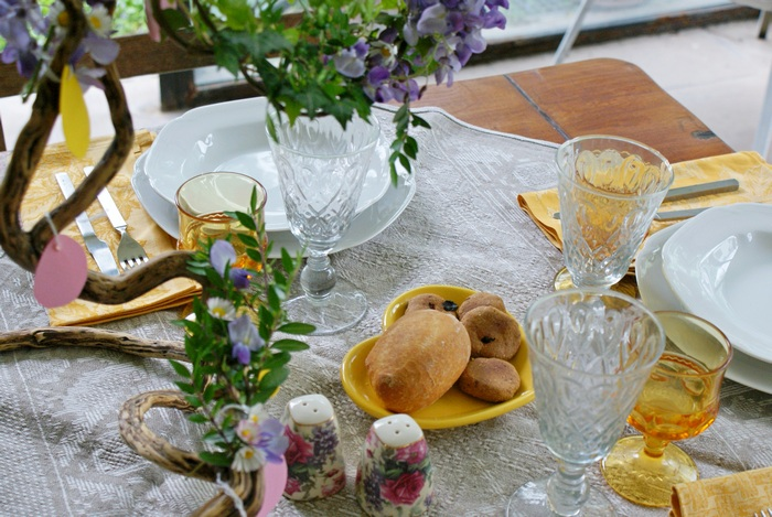 easter table decoration diy