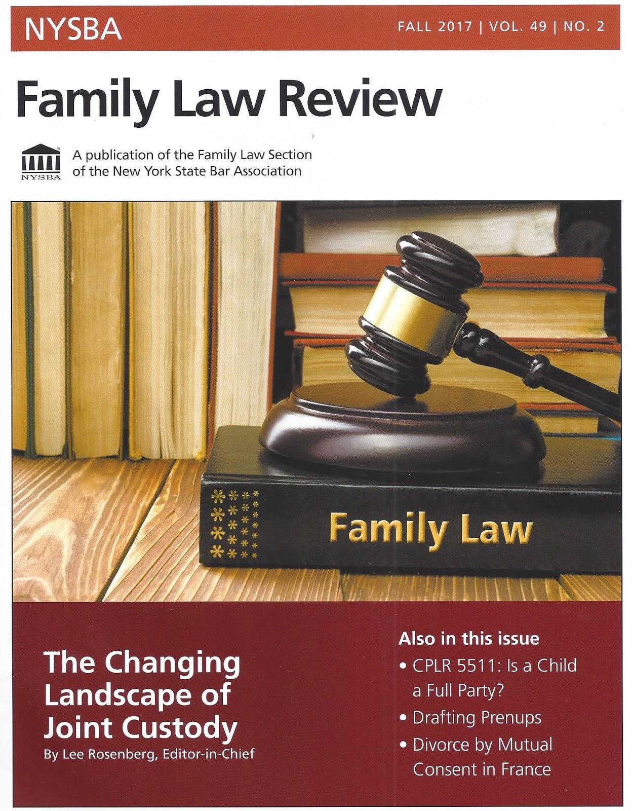 International Family Law November 2017