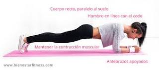 plancha abdominales