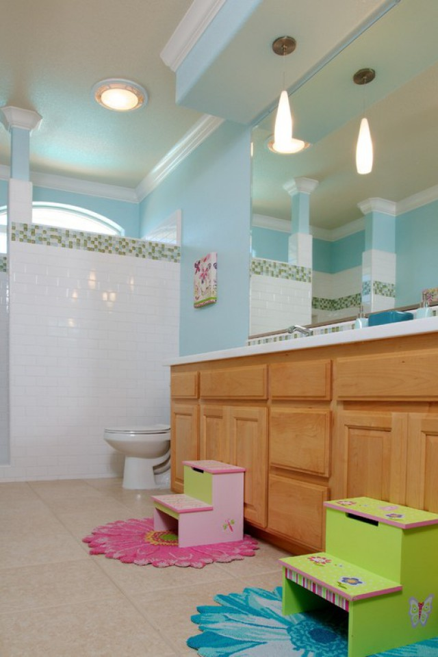 kids bathroom color ideas 20 playful bathroom decor ideas on budget 18969
