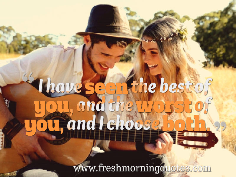 romantic couple love quotes