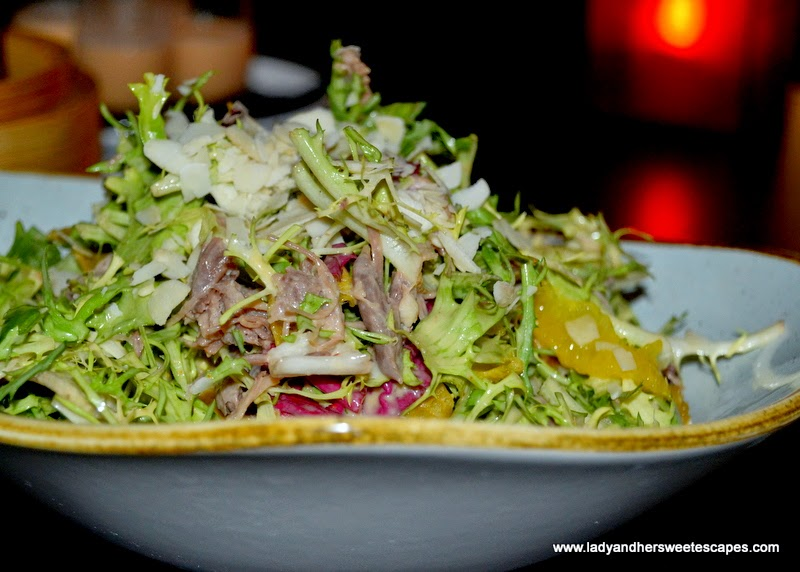 Beijing Duck salad at China Grill Dubai