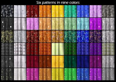 DG Iray Holiday Fabrics