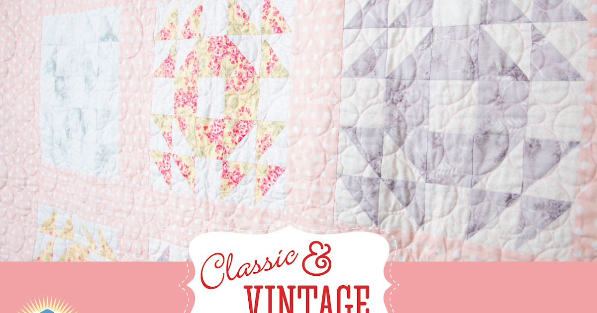 Classic Amp Vintage Featuring The Single Wedding Ring Quilt