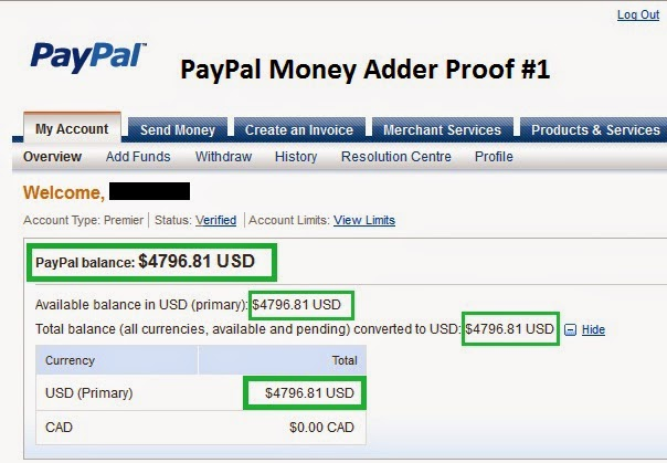 how to get money from paypal without a bank account