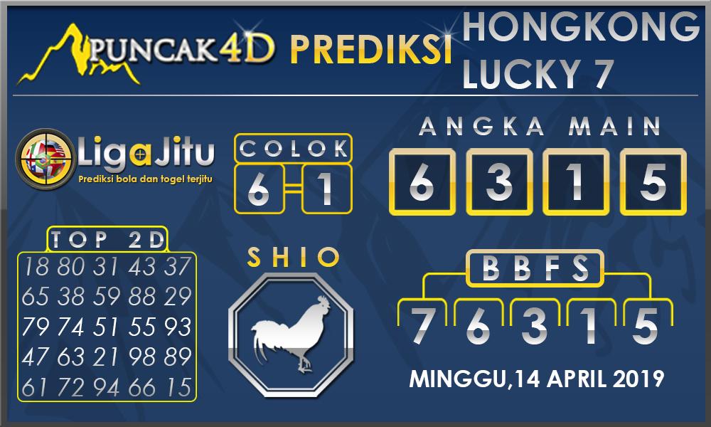 PREDIKSI TOGEL HONGKONG LUCKY7 PUNCAK4D 14 APRIL 2019