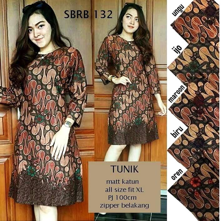 Contoh Baju Batik Wanita Modern Model Batik Terbaru 2018 Motif Batik  Parang. Harga Rp. 80.000.- pcs 5c9783e199