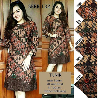 Contoh Baju Batik Wanita Modern Model Batik Terbaru 2018 Motif Batik Parang